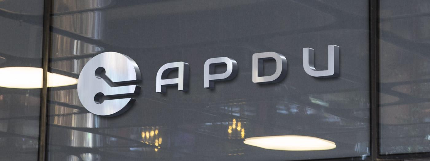 Projekt logo dla APDU Sp. z o. o.
