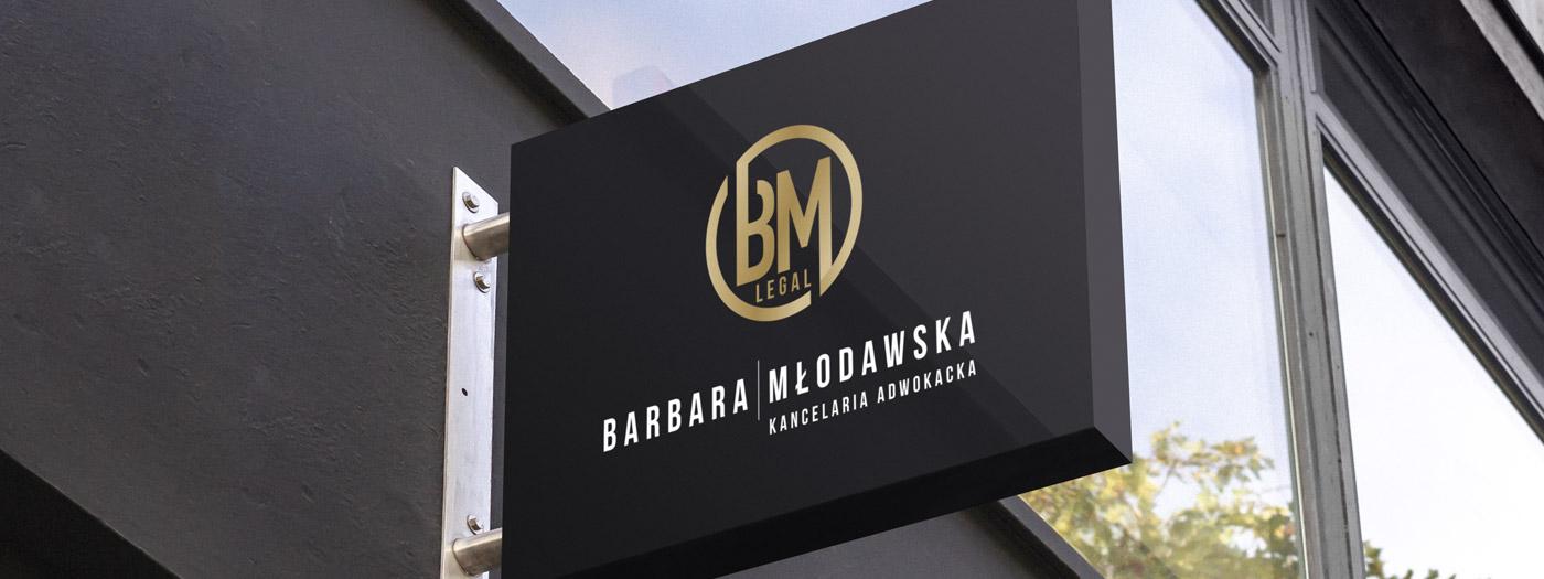 Projekt logo dla Kancelaria Adwokacka Adwokat Barbara Młodawska