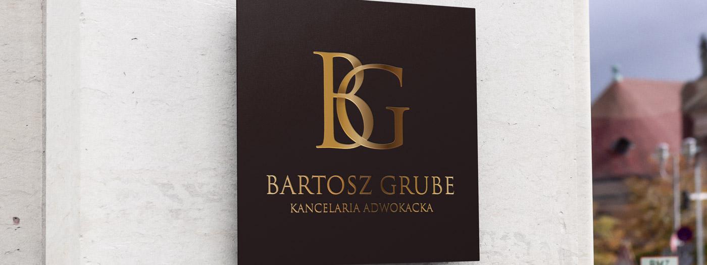 Projekt logo dla Kancelaria Adwokacka Bartosz Grube