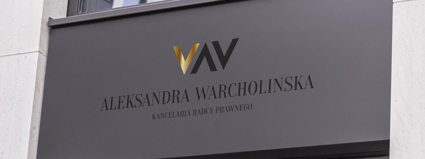 Projekt logo dla Kancelaria radcy prawnego Aleksandra Warcholinska