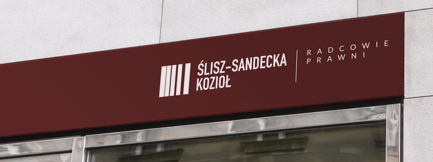 Projekt logo dla Ślisz-Sandecka Kozioł & Partnerzy Radcowie Prawni