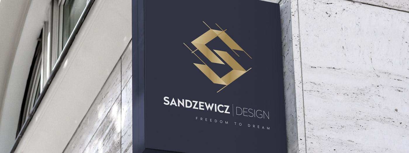 Projekt logo dla Sandzewicz Design
