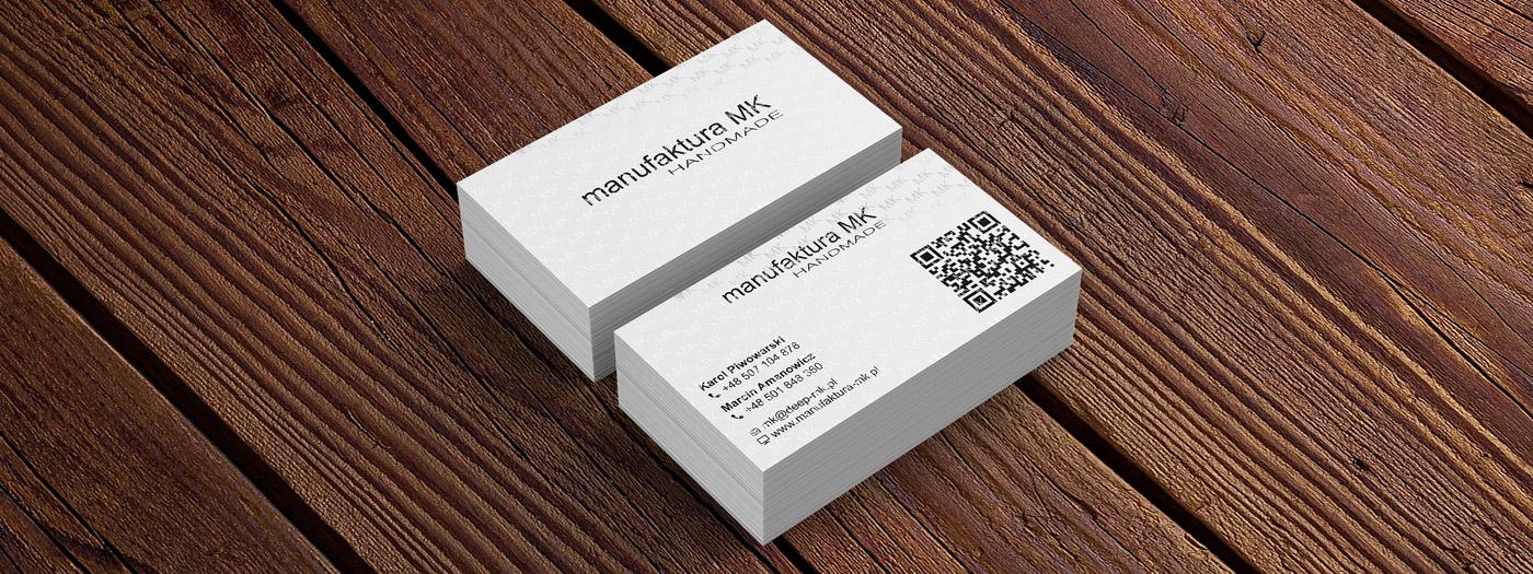 Wizytówka dla Manufaktura MK Handmade