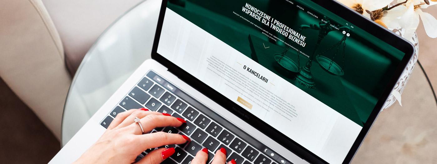 Strona internetowa dla Kancelaria Adwokacka Adwokat Barbara Młodawska