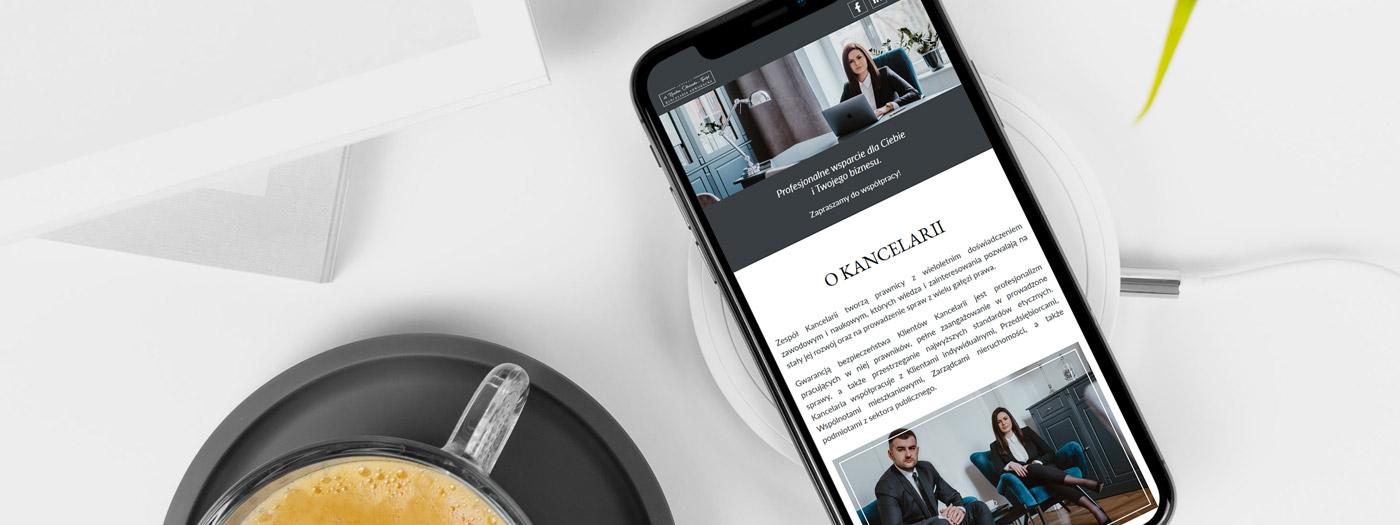 Strona internetowa dla KANCELARIA ADWOKACKA Adwokat dr Karolina Okniańska-Tyndyk