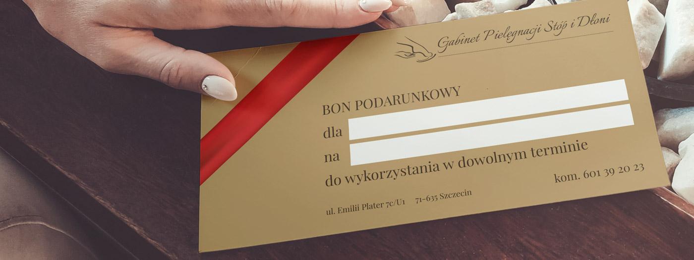 Bon podarunkowy dla Gabinet Pielęgnacji Stóp i Dłoni Edyta Bieskiewicz