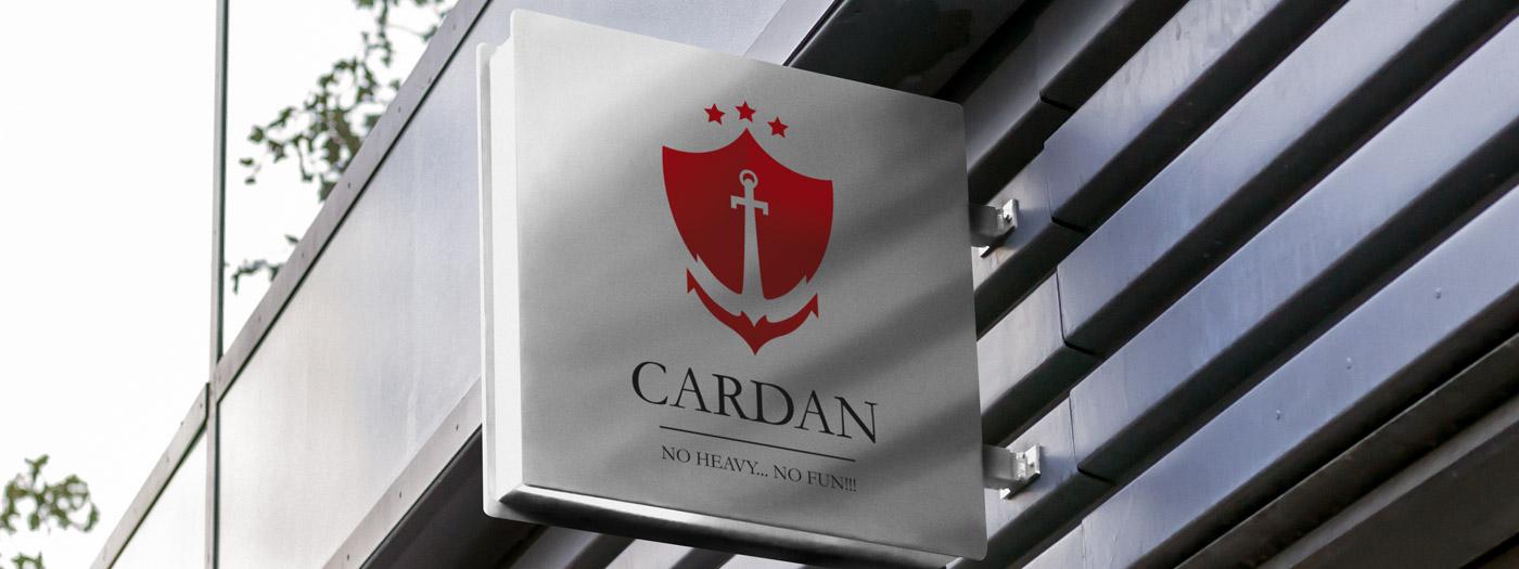 Projekt logo dla CARDAN Logistics Sp. z o.o.