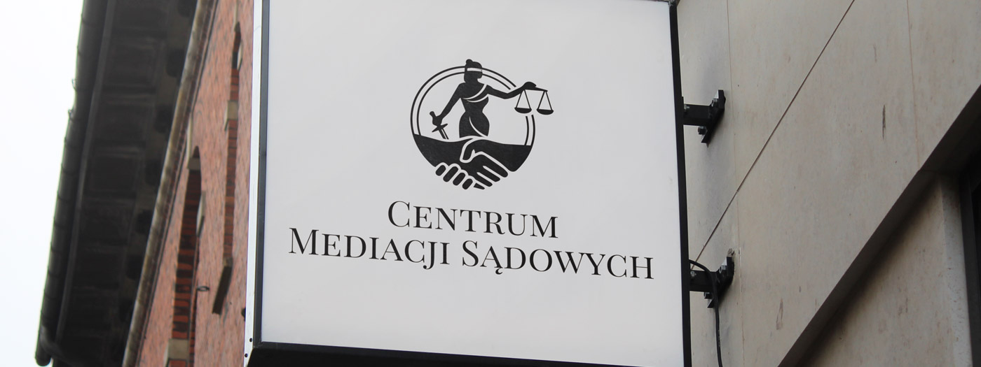 Projekt logo dla Centrum Mediacji Sądowych