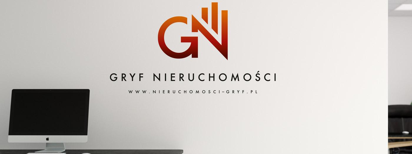 Projekt logo dla GRYF Nieruchomości Sp. z o.o.