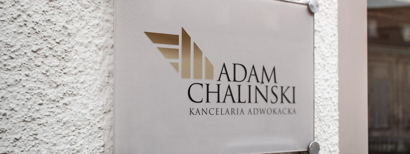 Projekt logo dla Kancelaria Adwokacka Adam Chaliński