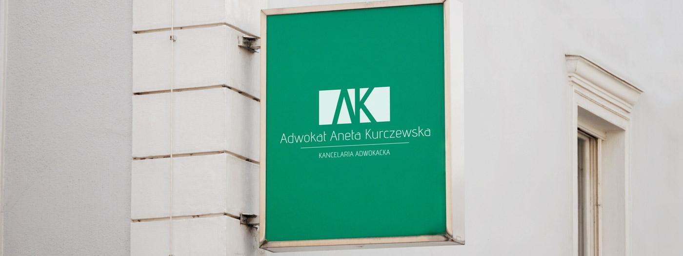 Projekt logo dla Kancelaria Adwokacka Adwokat Aneta Kurczewska