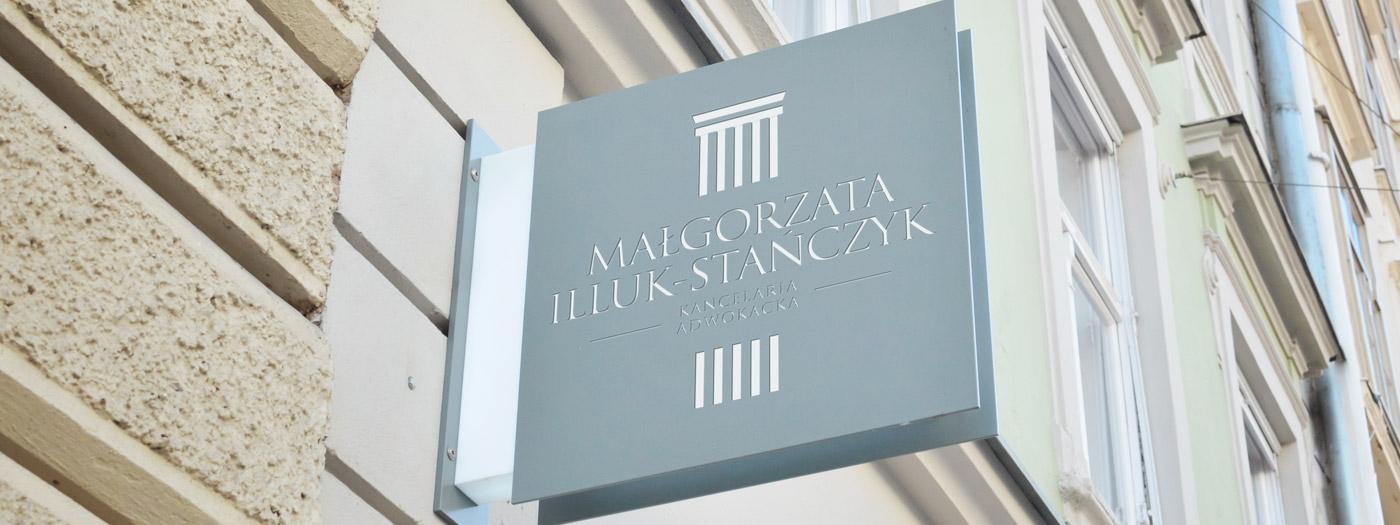 Projekt logo dla Kancelaria Adwokacka Adwokat Małgorzata Illuk-Stańczyk