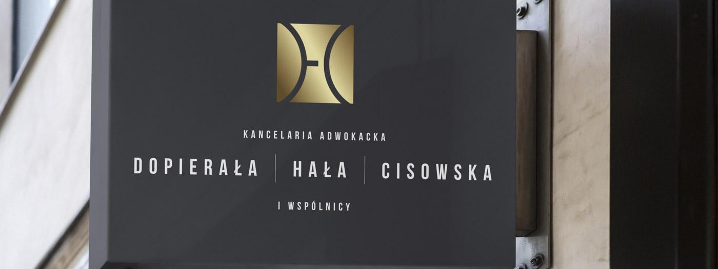Projekt logo dla Kancelaria Adwokacka Dopierała Hała Cisowska & Wspólnicy