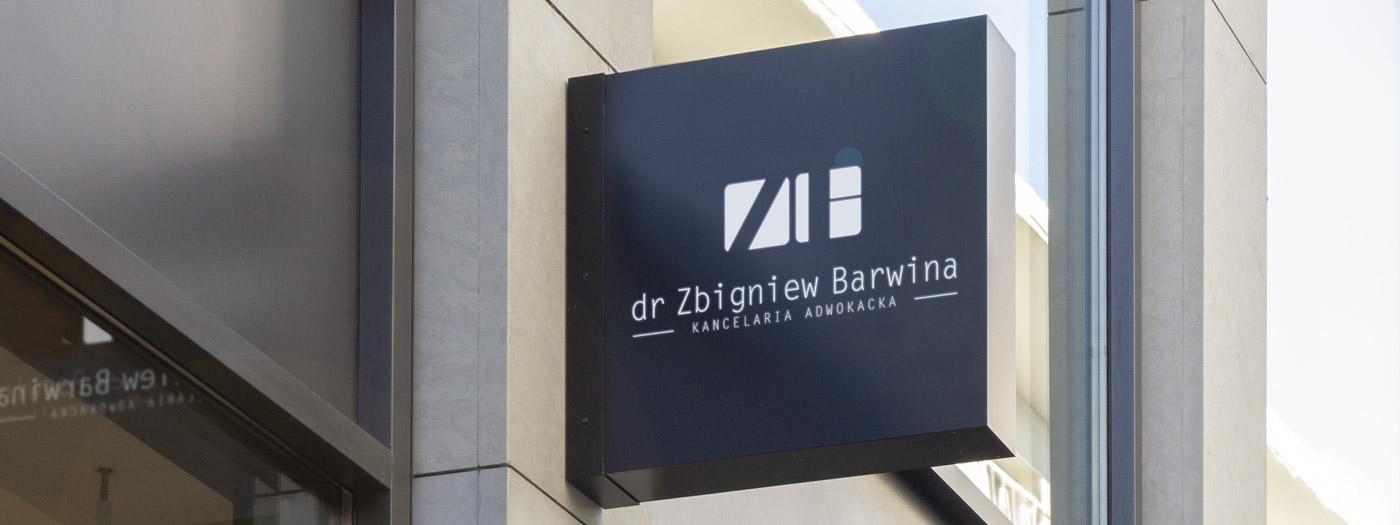 Projekt logo dla Kancelaria Adwokacka dr Zbigniew Barwina