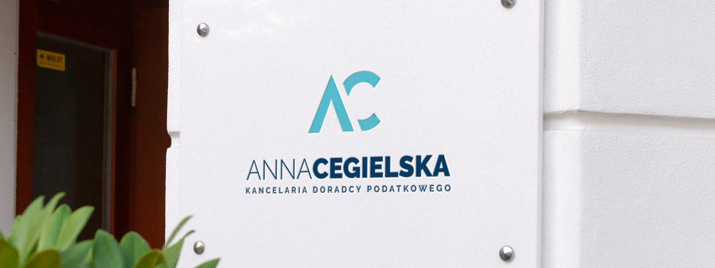 Projekt logo dla Kancelaria doradcy podatkowego Anna Cegielska