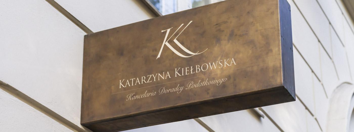 Projekt logo dla Kancelaria doradcy podatkowego Katarzyna Kiełbowska