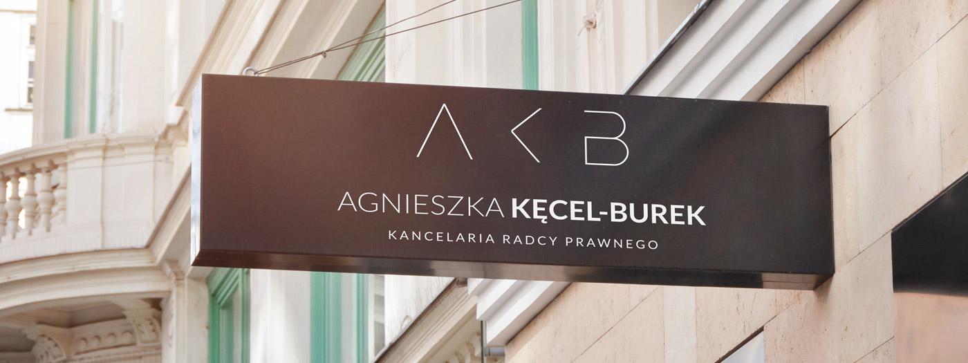 Projekt logo dla Kancelaria radcy prawnego Agnieszka Kęcel-Burek