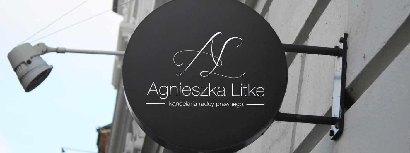 Projekt logo dla Kancelaria radcy prawnego Agnieszka Litke