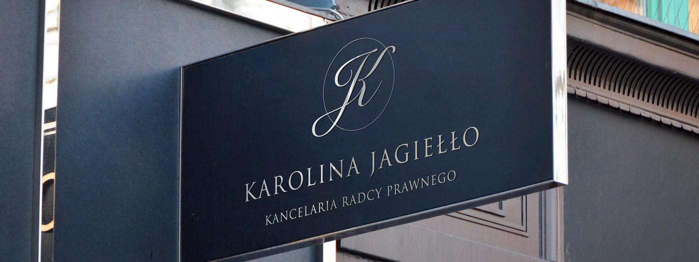 Projekt logo dla Kancelaria radcy prawnego Karolina Jagiełło