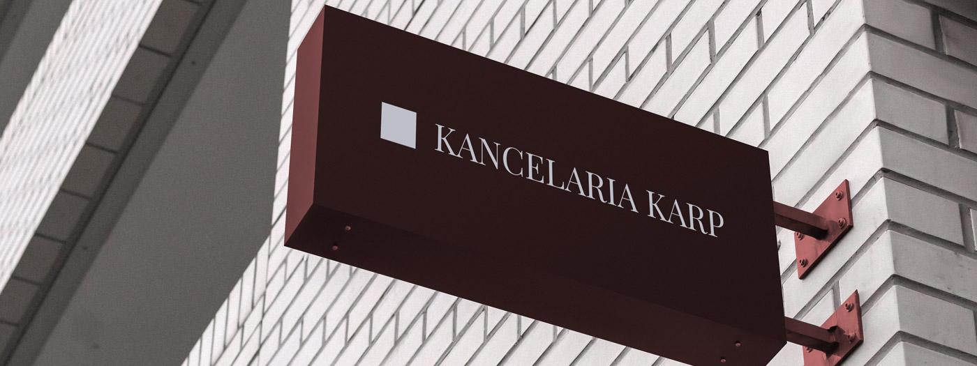 Projekt logo dla Kancelaria radcy prawnego Krzysztof Karp