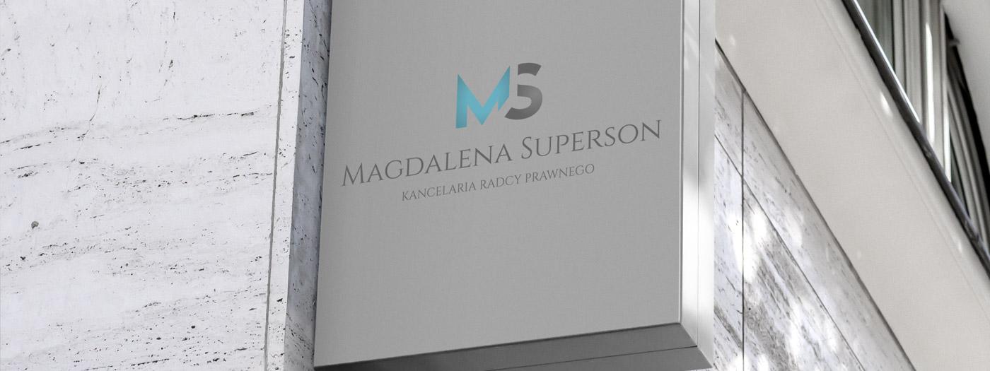 Projekt logo dla Kancelaria radcy prawnego Magdalena Superson
