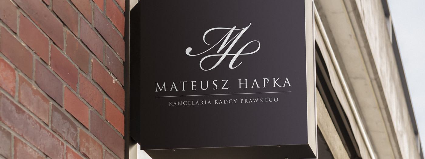 Projekt logo dla Kancelaria radcy prawnego Mateusz Hapka