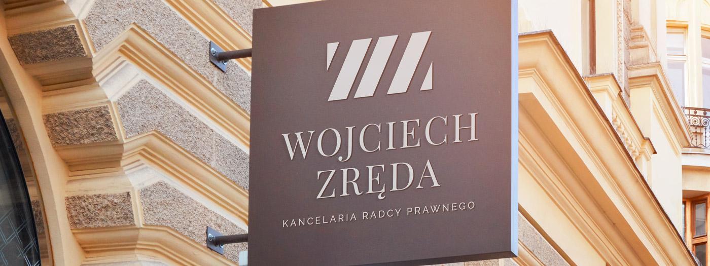 Projekt logo dla Kancelaria radcy prawnego Wojciech Zręda