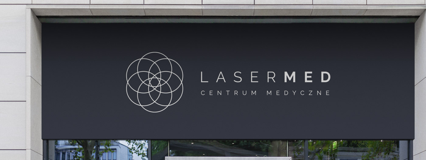 Projekt logo dla LaserMed Centrum Medyczne