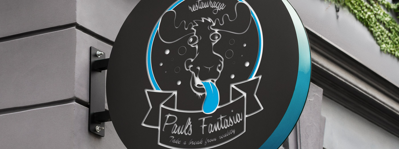 Projekt logo dla Restauracja Pauls Fantasia
