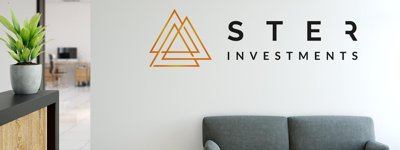 Projekt logo dla STER Investments