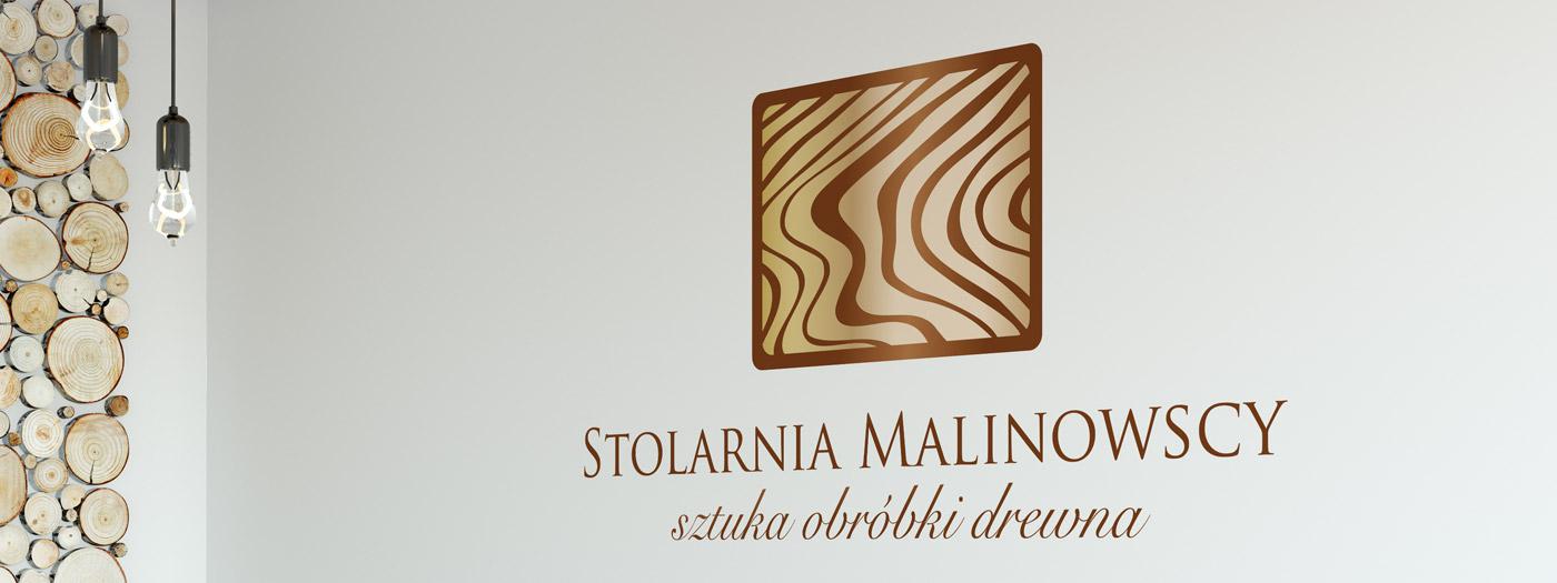 Projekt logo dla Stolarnia Malinowscy