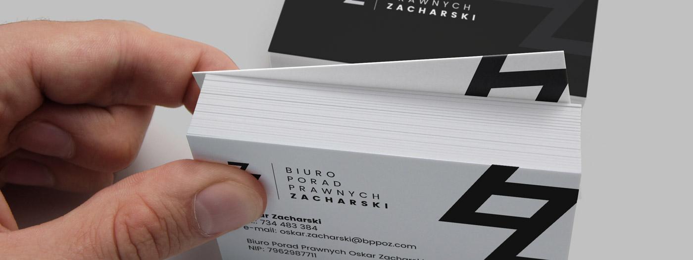 Wizytówka dla Biuro porad prawnych Zacharski