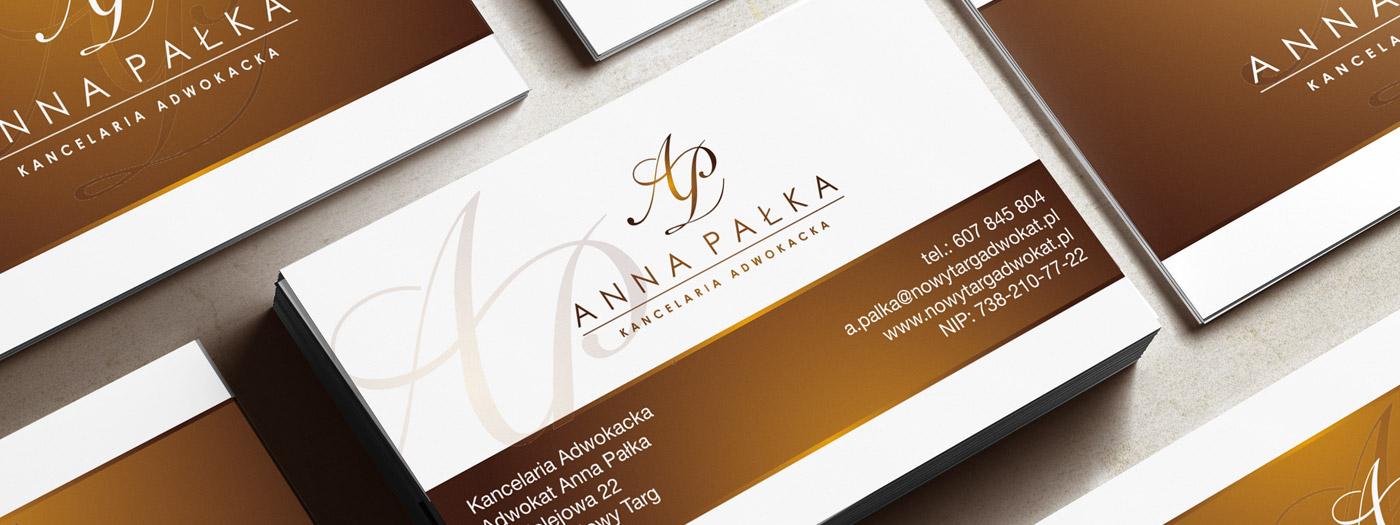 Wizytówka dla Kancelaria Adwokacka Anna Pałka