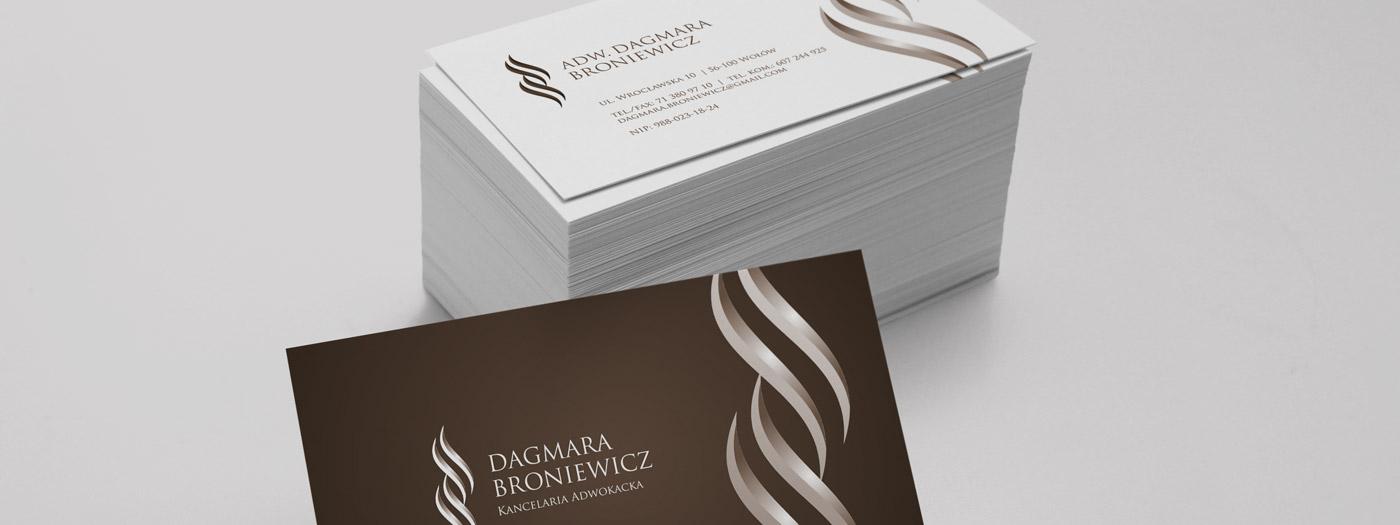 Wizytówka dla Kancelaria Adwokacka Dagmara Broniewicz
