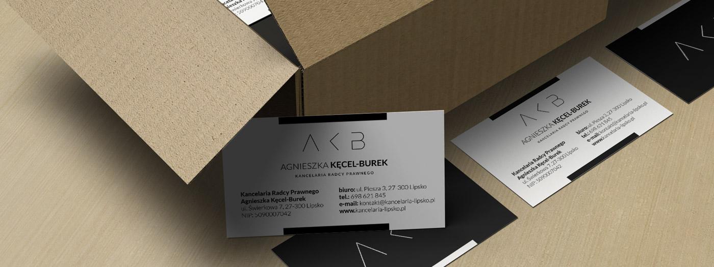 Wizytówka dla Kancelaria radcy prawnego Agnieszka Kęcel-Burek