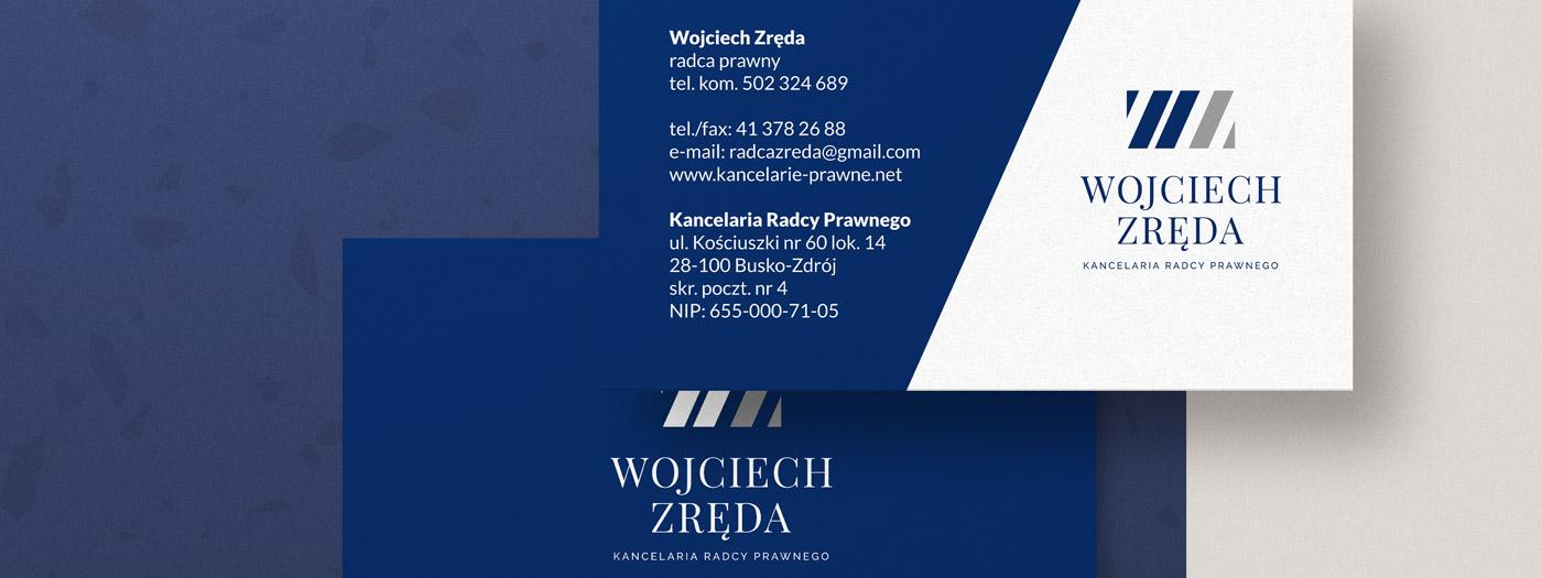 Wizytówka dla Kancelaria radcy prawnego Wojciech Zręda