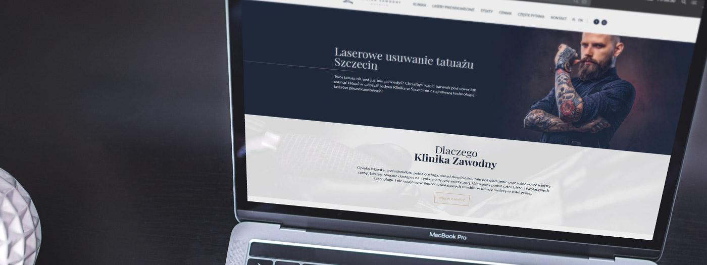 Strona internetowa dla Klinika Zawodny