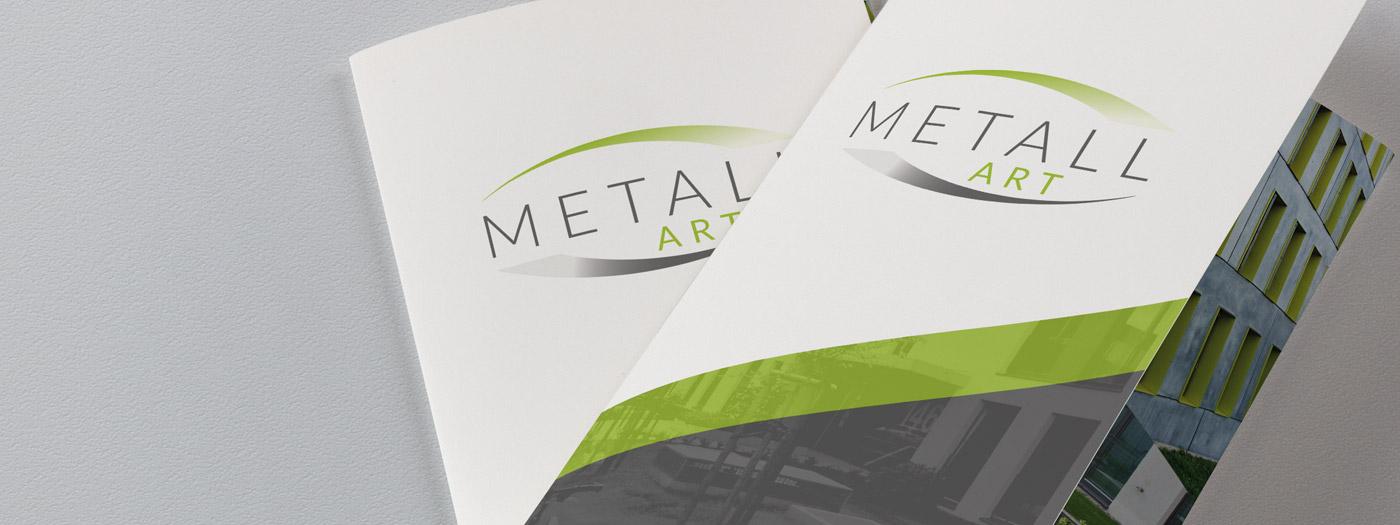 Ulotka składana 3xDL dla Metall Art Sp. z o.o.