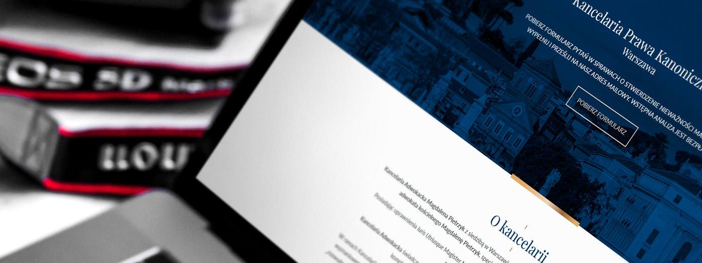 Strona internetowa dla Kancelaria Adwokacka Magdalena Pietrzyk