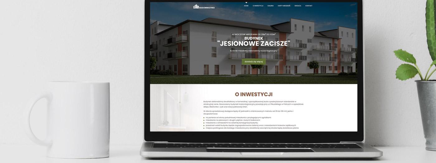 Strona internetowa dla Wielowski Budownictwo