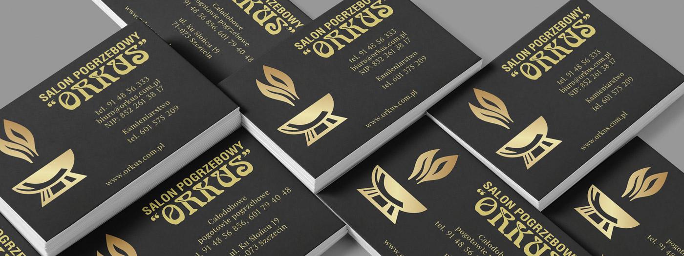 Wizytówka dla Salon pogrzebowy ORKUS